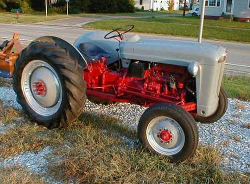 Ford Classic Tractors : Simple powerful old ford tractors on pinterest