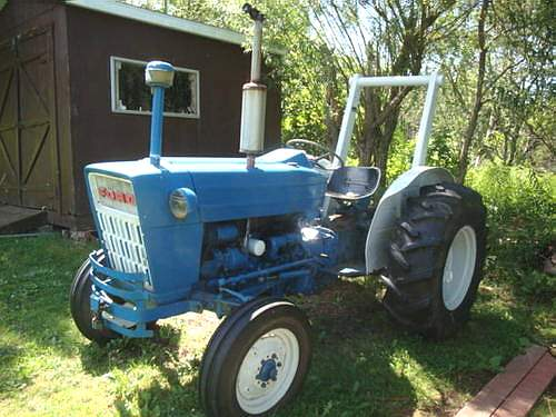 Ford 3000 Tractor Mechanical Blueprint : Ford tractor to models
